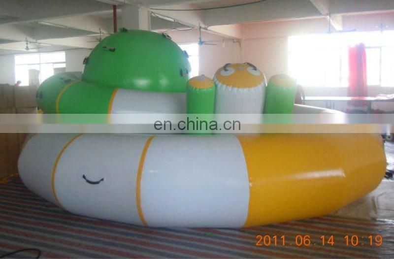 inflatable water floating teeter totter (inflatable water saturn,sky totter)