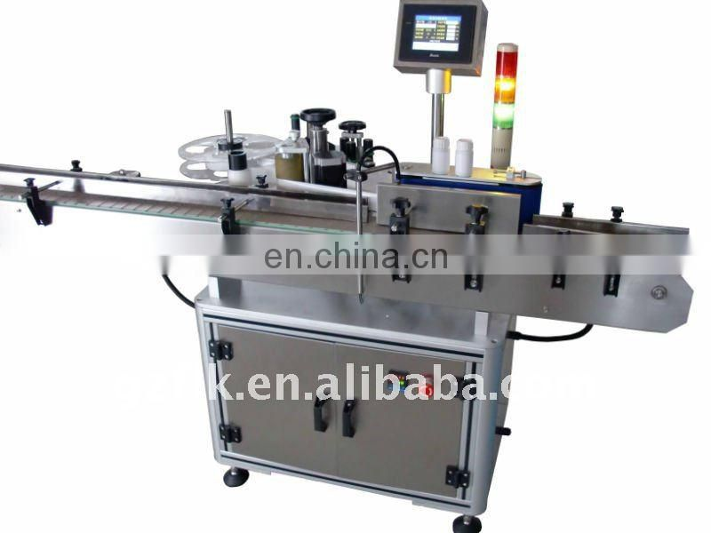 horizontal automatic labeling machine for round bottles