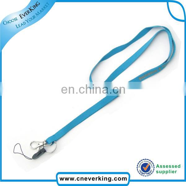 2017 new arrival polyester lanyard with bottle opener