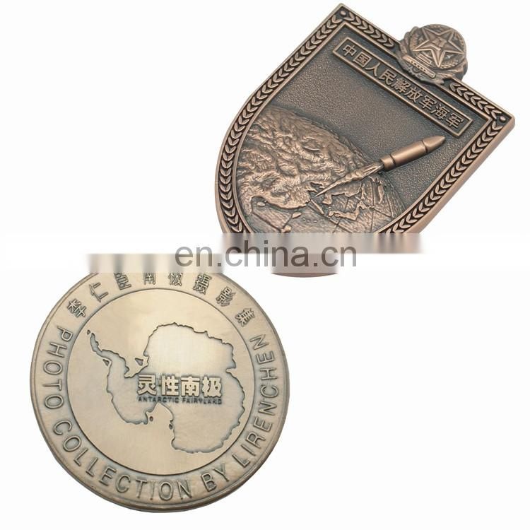 Custom Made Commemorative Antique Coin with box