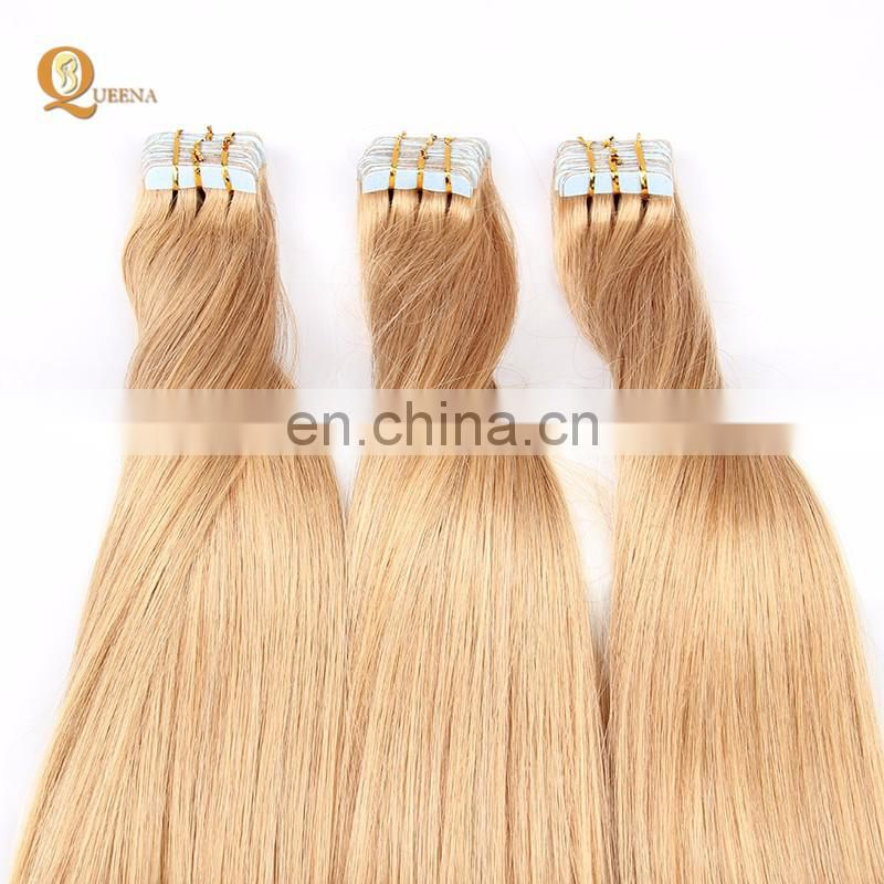 Skin Weft Seamless Hair Extensions Russian Hair Tape Hair Extension In Dubai