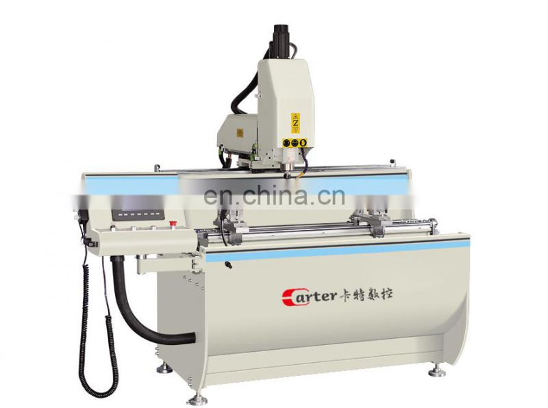 Aluminum Window Door Making Machine with 2 Years Warranty Aluminum Profile CNC Drilling Milling Machine