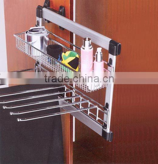 wardrobe accessories metal multifunctional trousers rack