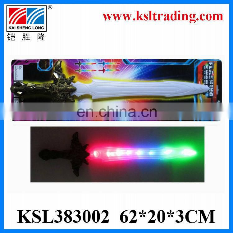 Eco-Friendly plastic toy sound and light laser sword