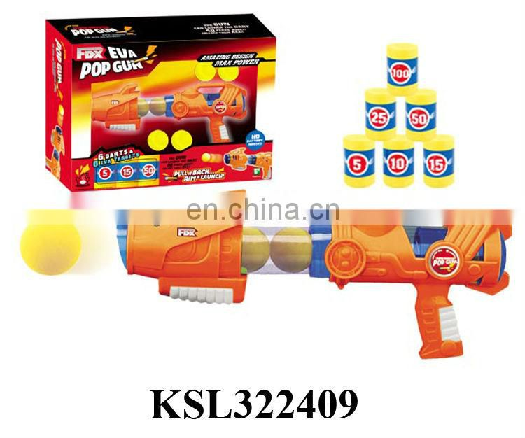 Pop gun soft bullets gun airsoft guns for sale all certificate