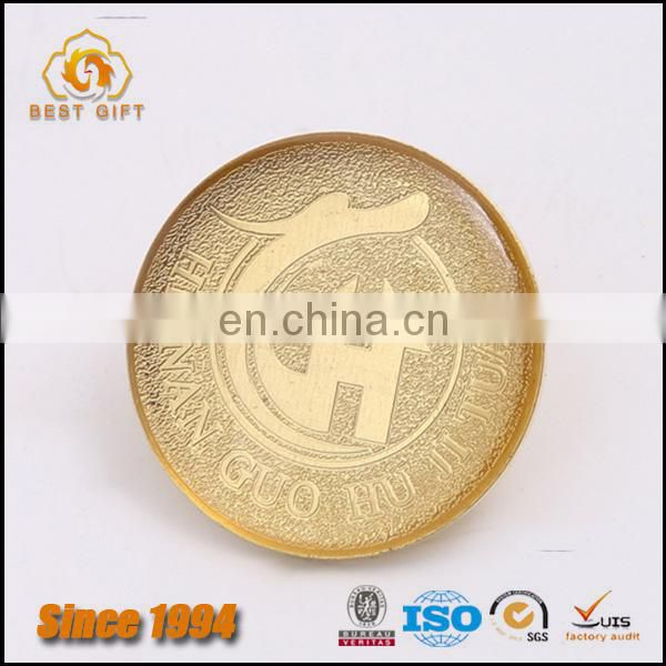 Custom High Quality Covering Expoy Metal Craft Badge