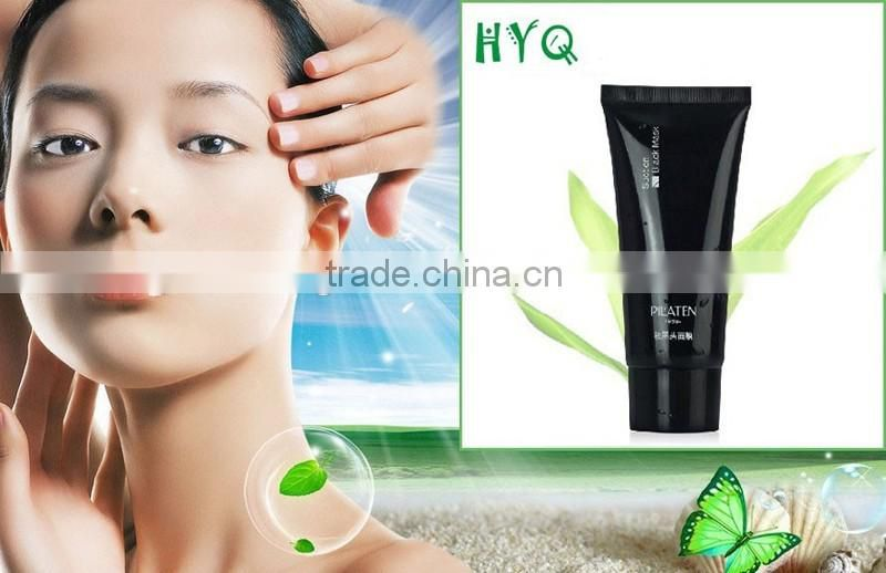 Pilaten Deep Cleansing Purifying Peel Acne Treatment Black Mud Face Mask Blackhead Remover Nose Mask 60 g
