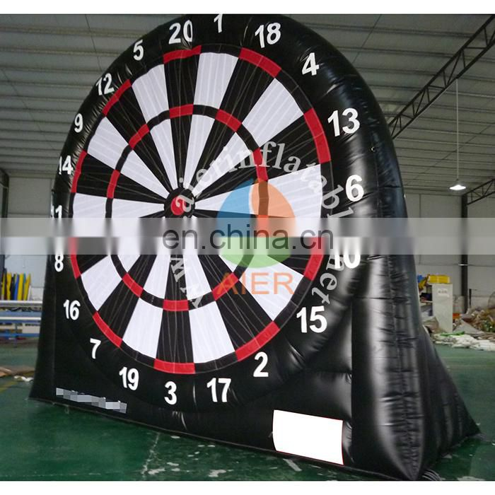 2017 cheap most popular inflatable sport games / customized inflatable football board for sale