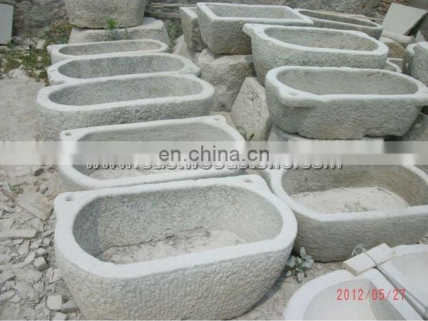 old stone planter antique stone grindstone