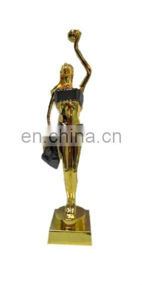 Promotion Golden Alloy Human Figures Trophy