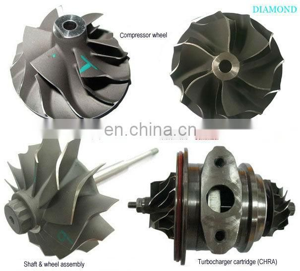 TB25 compressor wheel For isusu Turbocharger465183-0005/8 452065- 0003 703605-0003/1