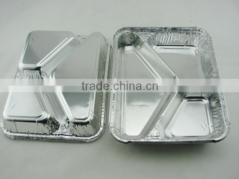 stock mold disposable full size deep aluminium foil baking pan household foil paper/aluminium foil for food packing