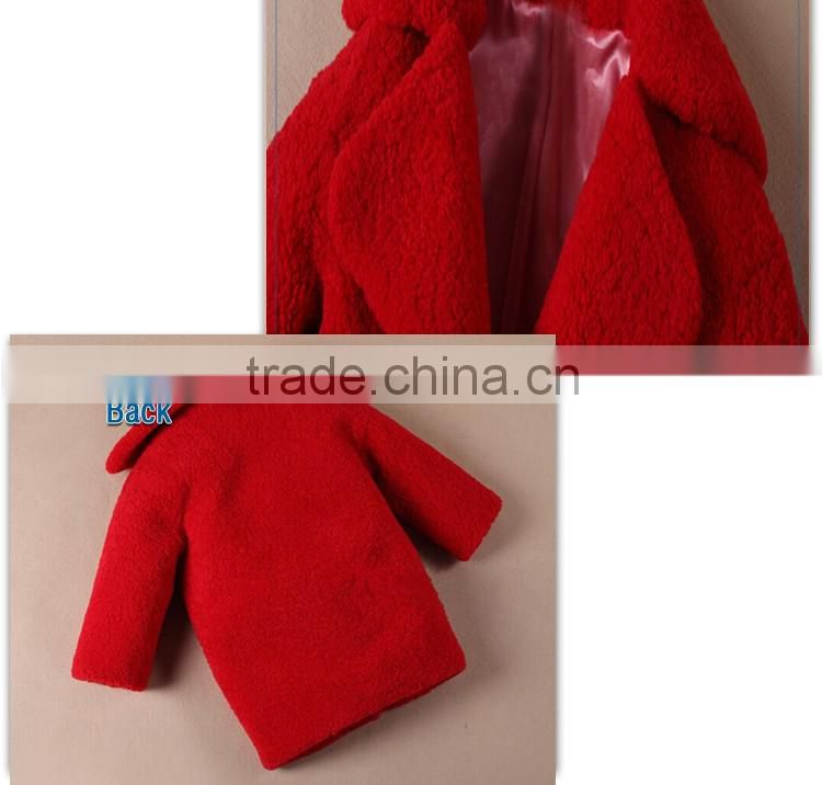 wholesale clothes baby kids clothing man-made fur winter coats