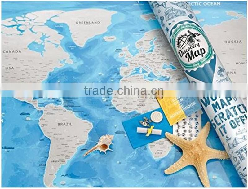 Detailed world map with scratch off stickers large size and tube detailed world map with scratch off stickers large size and tube packaging gumiabroncs Image collections