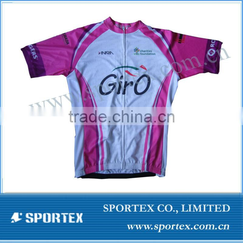 2013 Latest sublimation mens bicycle clothing, jersey, shirt