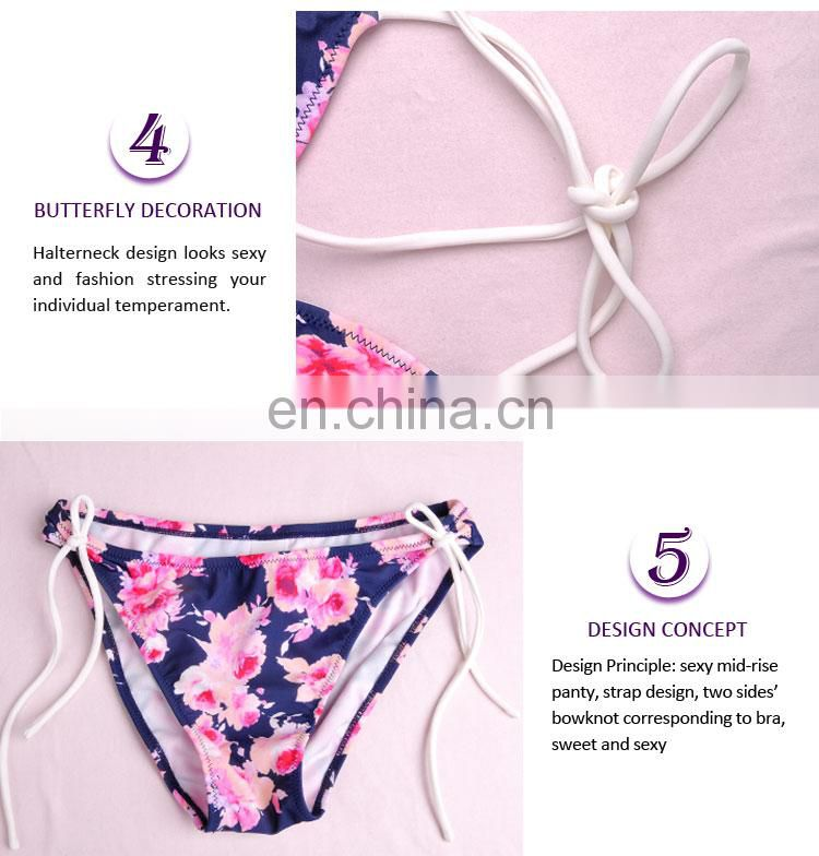 Supplier Elegant Lovely Plus Size Plain White Nylon Bikini Panties