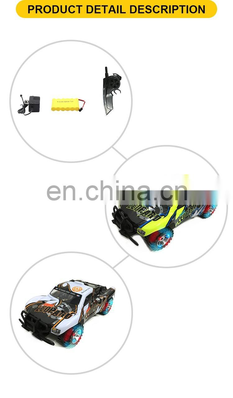 2.4G 1:10 4Channel remote control kids plastic rc toy car