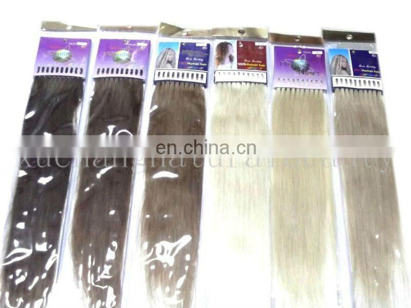 Pre-blond human hair for micro braids