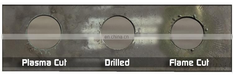 Hot rolled A36 Carton steel /laser cutting , drill hole low alloy steel plate