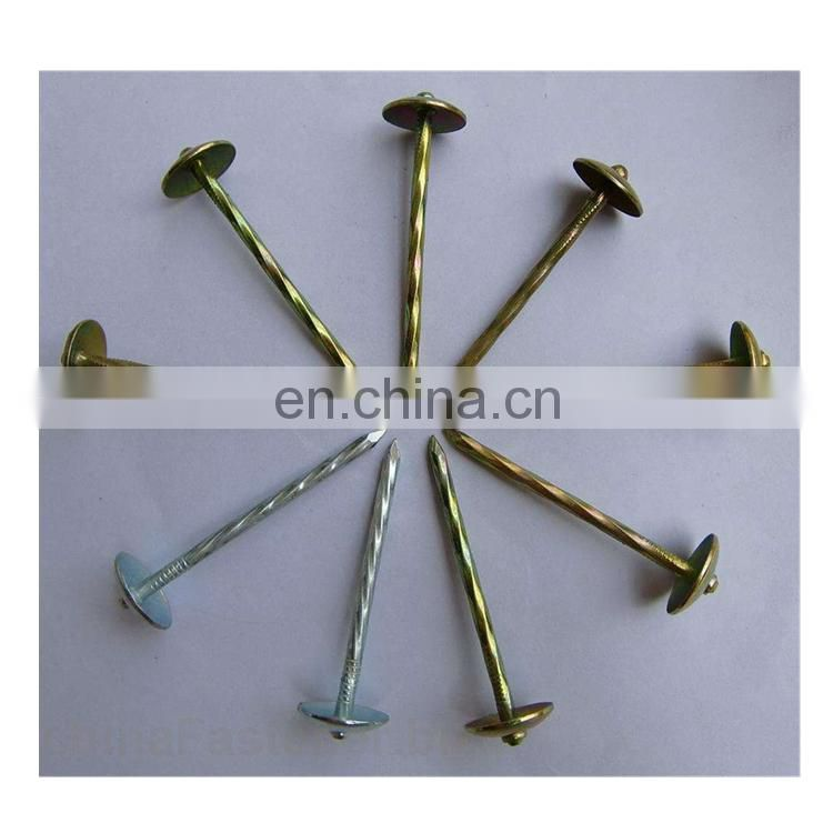 Hot sale factory Roofing nail price with good quality