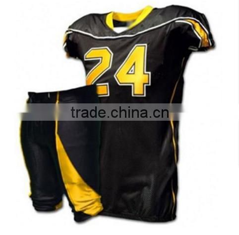 2016 Fashion customized sublimation American football jerseys custom american football uniforms dry fit football jersey