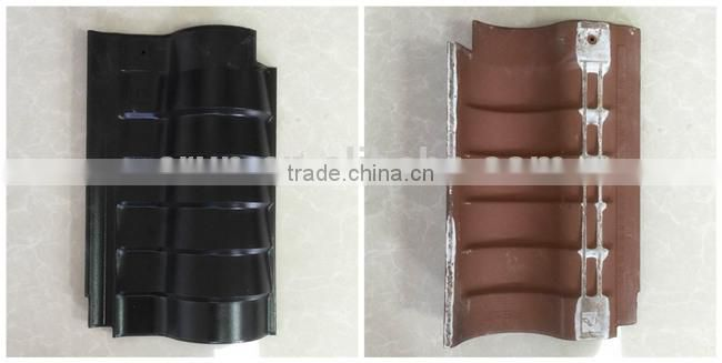 China new technology archaize refractory clay roof tile, bent clay roofing tile