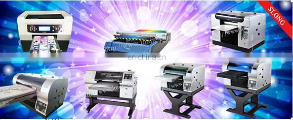 Colorful Shoes Digital Printing Machine /EVA Slipper Printer/Leather Bags Printer