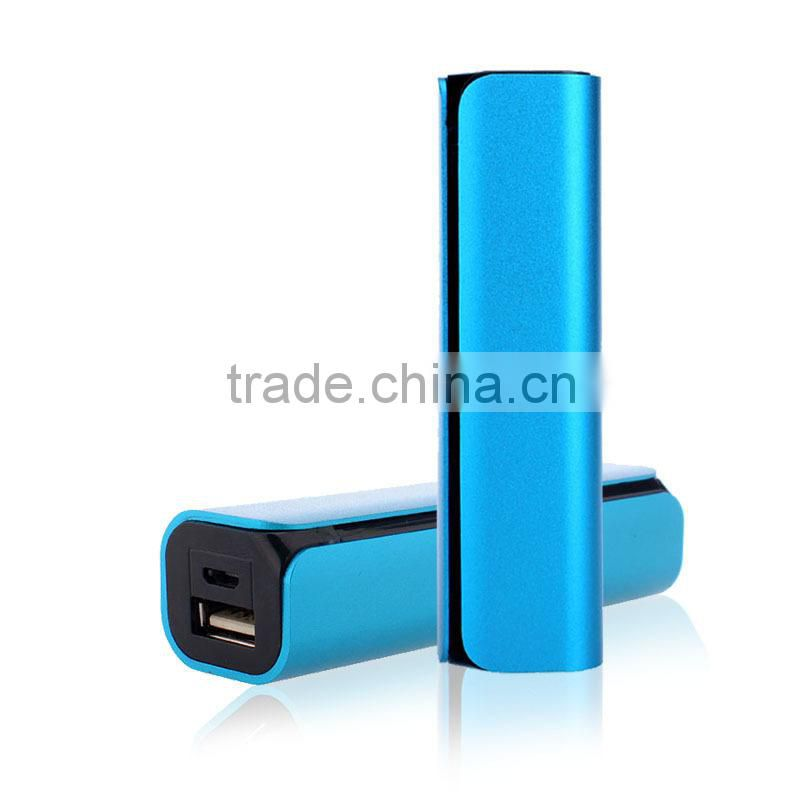High quality best price most popular small 2200mah aluminium power bank
