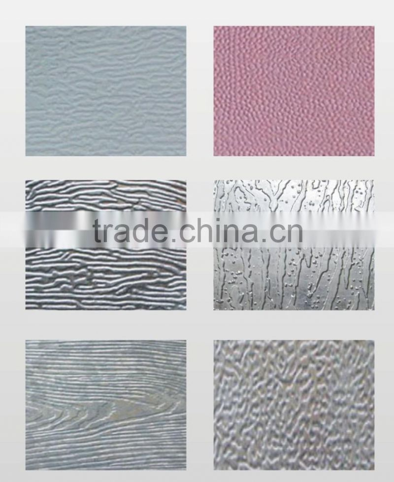 ce certification prepainted coil steel sheet embossing machine/cnc embossing machine
