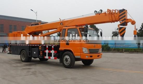 China Small Hydraulic Lifting Truck Crane for sale