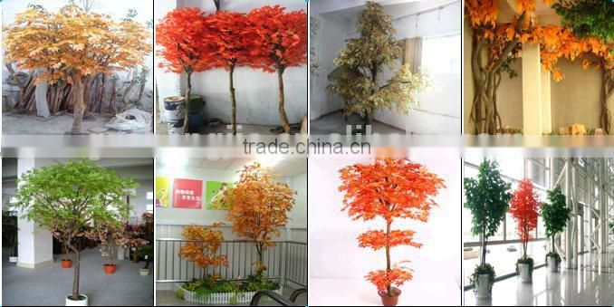 4M artificial ficus tree with PE leaves