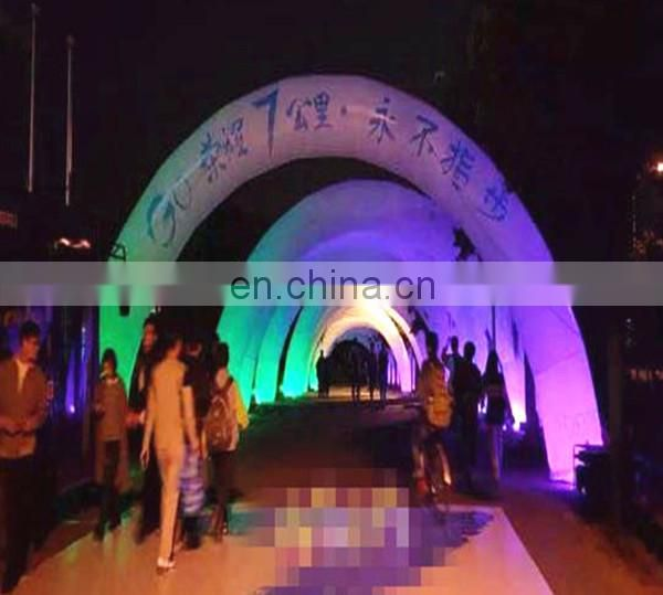 colorful lighting decoration Inflatable Arches for event