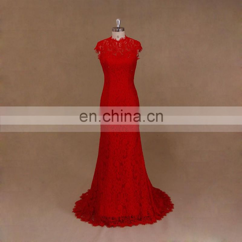 Mermaid Chinese Red Wedding Dress Mother Of The Bride