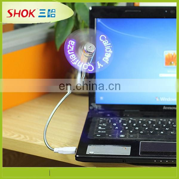 Hot selling high quality usb fan with led light