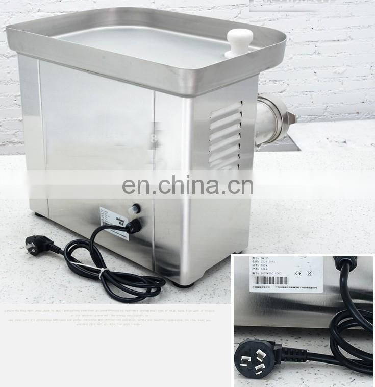 IS-Dm-22 Thickening Stainless Steel Commercial Home Dual-Use Meat Mincer