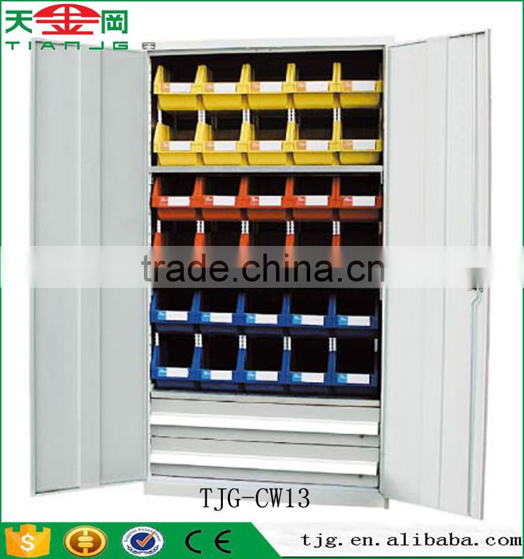 Taiwan Metal 2 Door Storage Cabinet With 2 Shelves 2 Drawer For