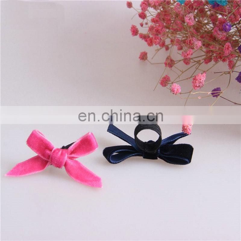 1cm velvet bow for fancy perfume bottle