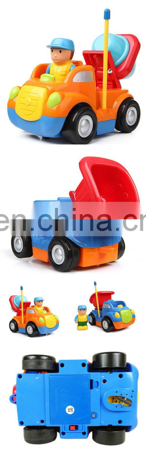 2 channel cartoon engineering rc car manufacturers china