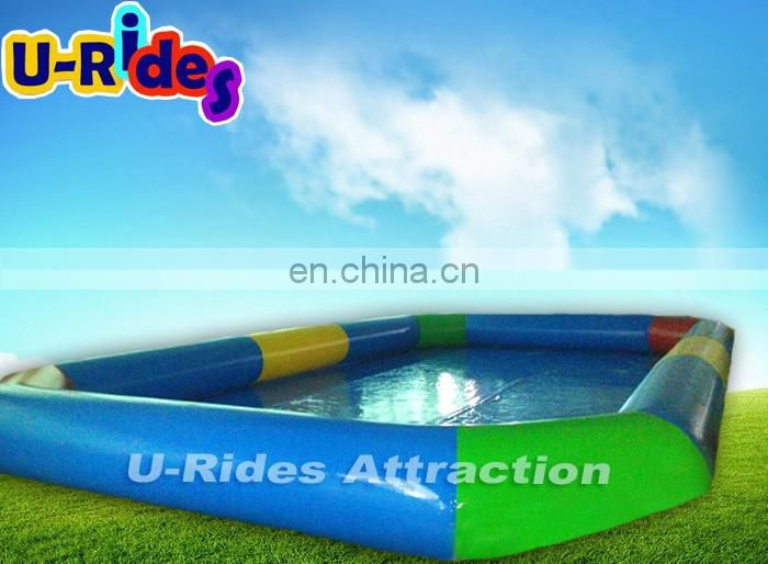 Green and blue swimming Inflatable pool