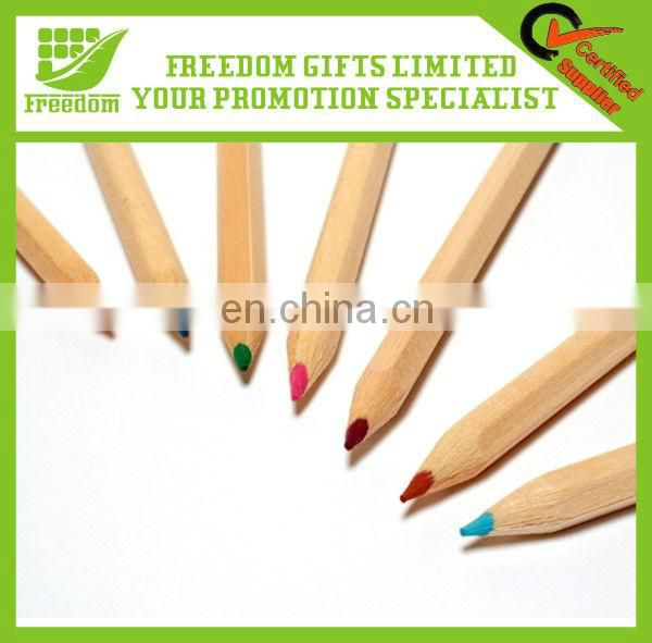 24 Pcs Short Natural Wood Colour Pencils