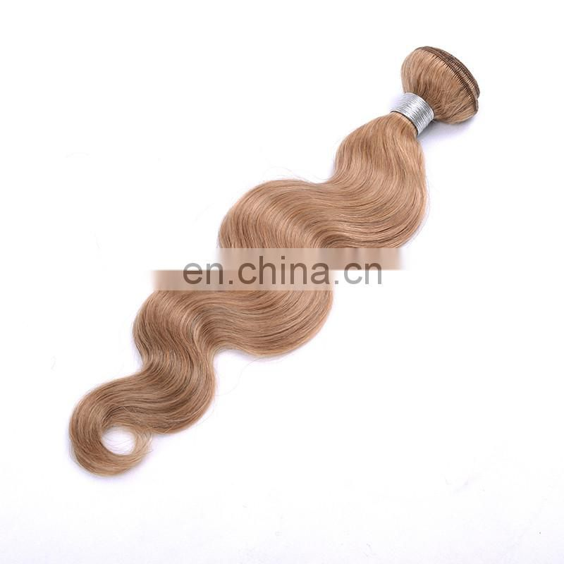 unprocessed virgin hair bundles, body wave 27 hair wefts, wholesale hair extensions blonde