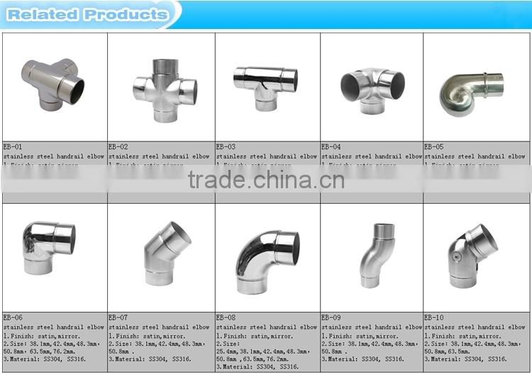 EB-11 Factory direct sales Stainless steel 90 degree elbow