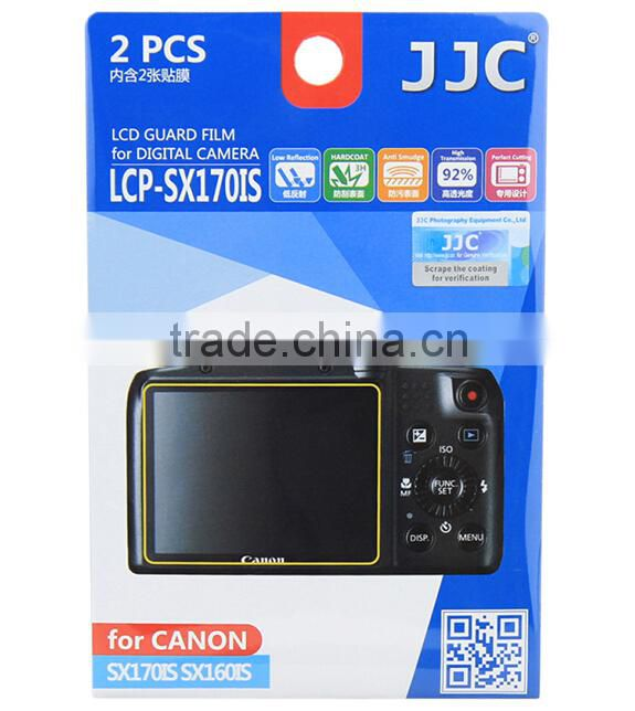 PET Screen Protector For Canon JJC LCP-SX170IS Guard Film Protector For Camera Screen Protector