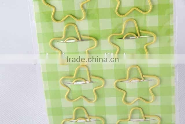 10pc Plum-blossom-shaped paper clip