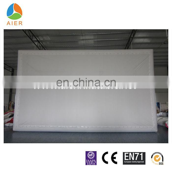 screen type inflatable cinema screen inflatable movie screen for sale