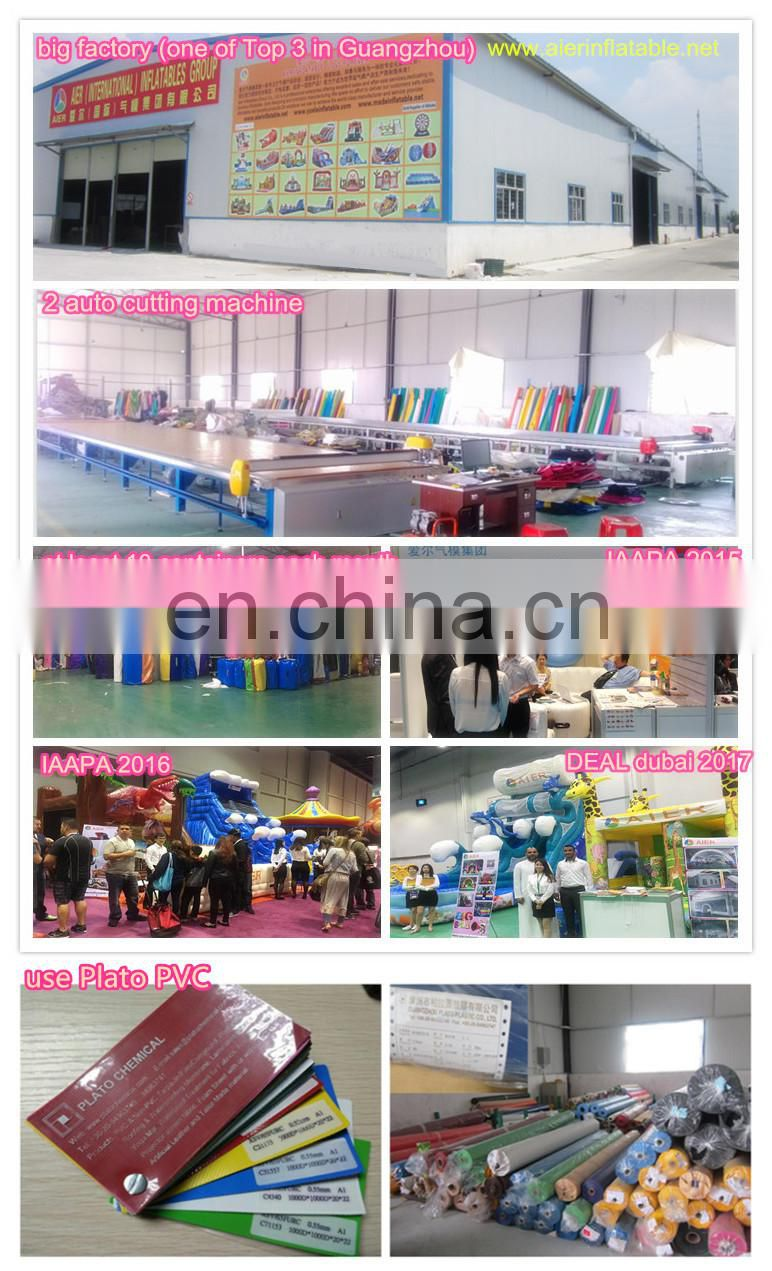 good quality inflatable slide, inflatable dry slides, 2 lanes inflatable slide Aier