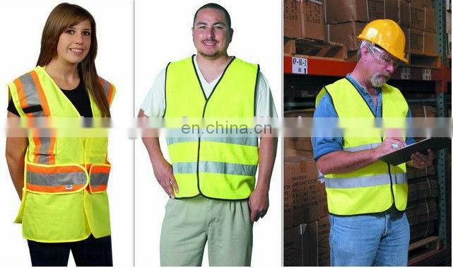 Manufacturer High-Visibility Safety Vest Reflective Vest