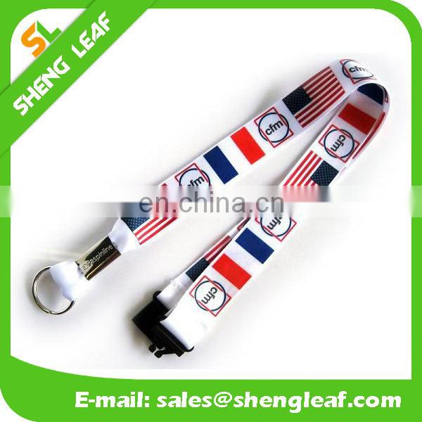 Custom full color printed lanyard no minimum order