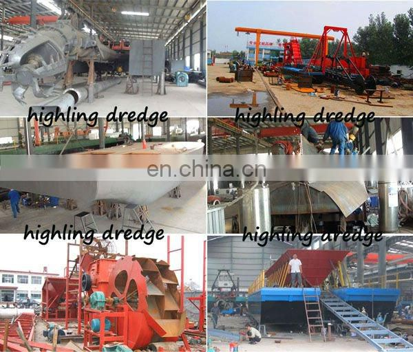"3500m3/h 16"" Hydraulic Sand and Mud Suction Dredging Equipment"