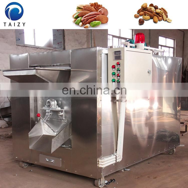 nut coffee bean automatic peanut cashew hazelnut roasting machine